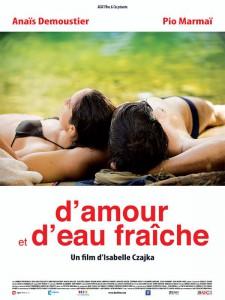 D'amour et d'eau Fraiche affiche