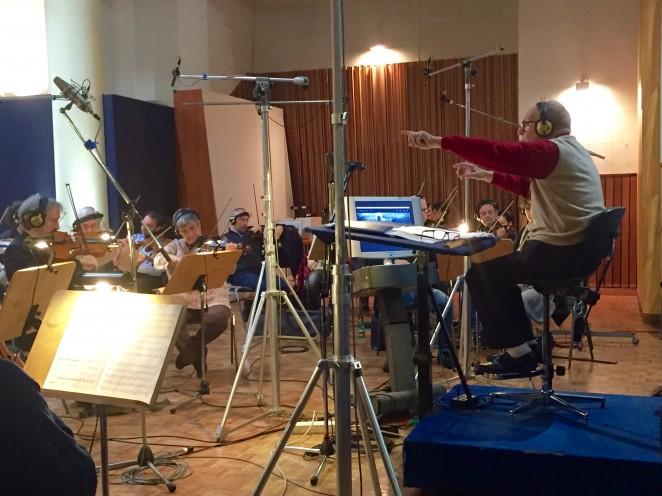 Enregistrement avec Ennio Morricone